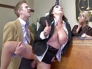 Handsome Mature Prosecutor gonzo nailed at job