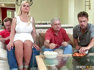 Brazzers - My stepmom on the take me a stripper