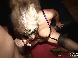 Spermastudio: Cum In Mouth Extreme - P2 - Natascha u. Luna
