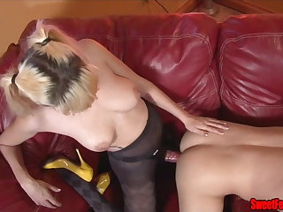 Meet Our New Lover CUCKOLDING FEMDOM PEGGING CUM Corroding