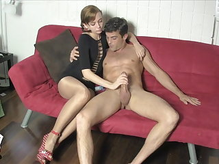 Edged and Milked away from Lizzy Lamb SHINY PANTYHOSE FACE SITTING