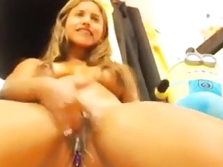 Sister pussy squirt and piss orgasm