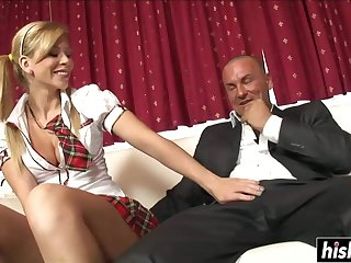 Horny Schoolgirl Has Joke Adjacent to A Cock - brooklyn lee