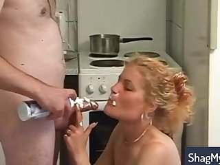 Hotness Blond Hair Girl Mature With Tiny Tits
