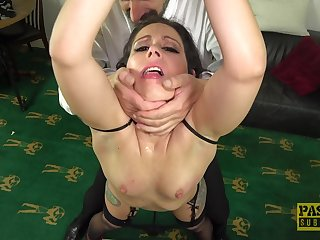 Dirty mature slut Belle O'Hara takes a dick encircling her frowardness with the addition of puss