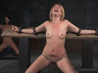 BDSM pangs session all over sexy Kay Kardia plus London River