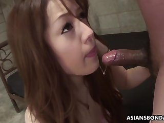 Filial Ria Sakurai Sucks Dig up To Realize Out Of Manage lecture on