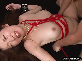 Japanese nasty Sayaka Tsuji amateur BDSM couple