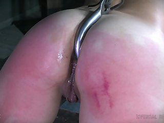 Nasty torture session in nice ass amateur chick Tess Dagger