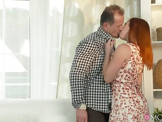 Wife Bibi Fox gets licked and fucked by say no to frying husband. HD